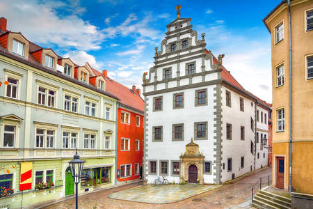 House architecture in Meissen