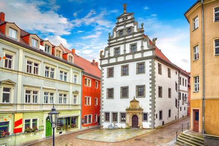 House architecture in Meissen