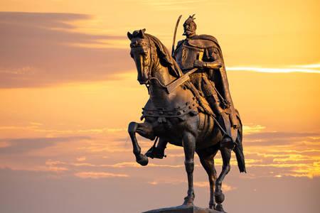 Monumento a Skanderbeg