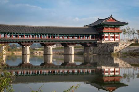 Woljongyo Bridge in Gyeongju