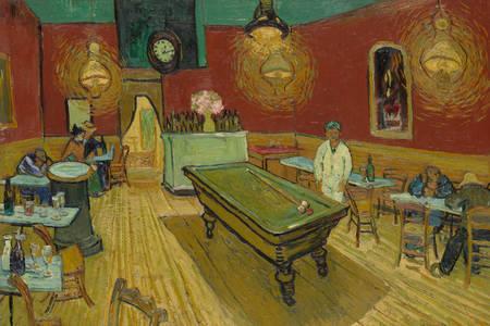 """Vincent Van Gogh: """"Éjszakai kávézó"""""""