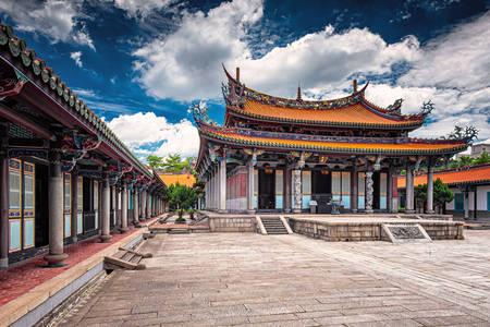 Dalongdong Bao'an Temple in Taipei