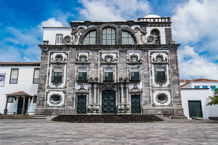 Iglesia del colegio jesuita en Ponta Delgada