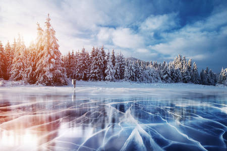 Ľadové jazero