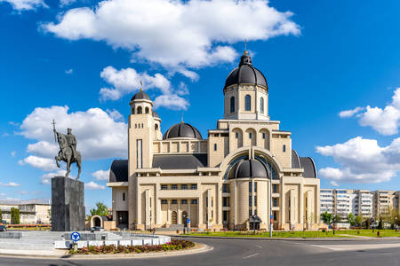 Cathedral of the Assumption in Bacau