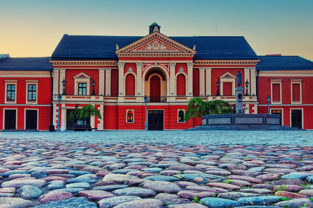 Drama theater in the city of Klaipeda