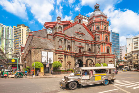 Binondo Church in Manila