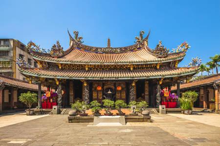 Dalongdong Bao'an-tempel in Taipei