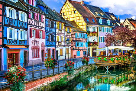 Colmar, old city