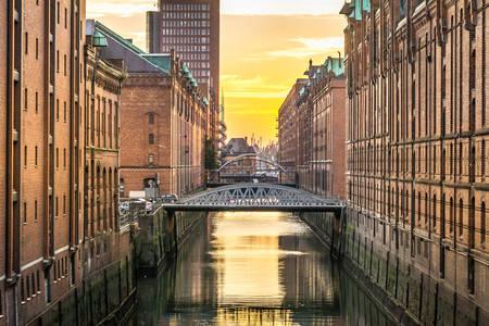 Canais de Hamburgo