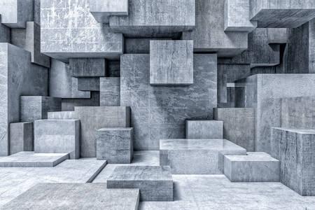Concrete Cubes