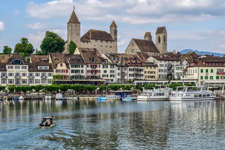 Рапперсвиль-Йона на берегу Цюрихского озера