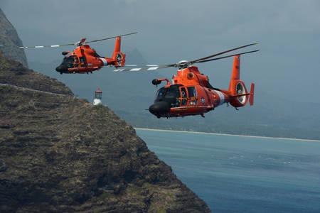 Helicópteros de la Guardia Costera