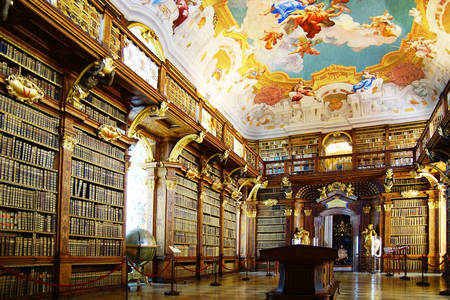 Abbey Library in Melk