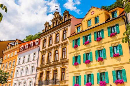 Karlovy Vary-architectuur