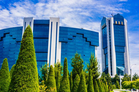 International Business Center in Tashkent