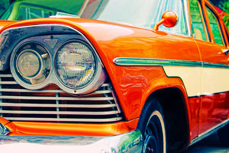 Stari retro automobil