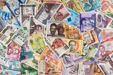 Колекция от африкански банкноти