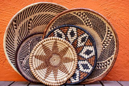 African baskets