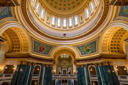 Interior of the Wisconsin State Capitol