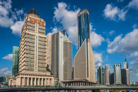 Mrakodrapy v Šanghaji