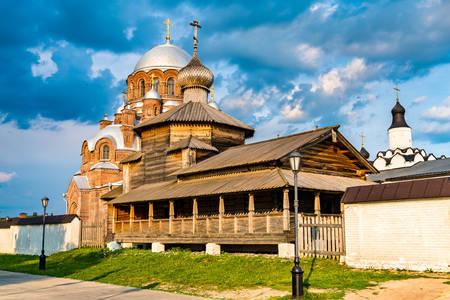 Church of the Holy Trinity on the island of Sviyazhsk