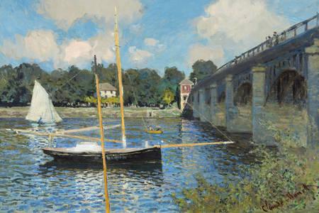 """Claude Monet: """"The Bridge at Argenteuil"""""""