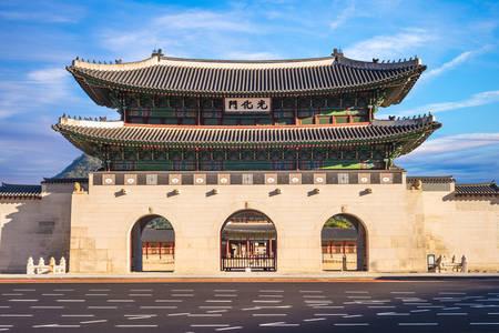 Gyeongbokgung main gate