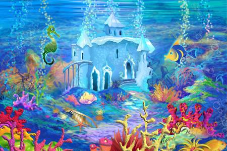 Underwater castle
