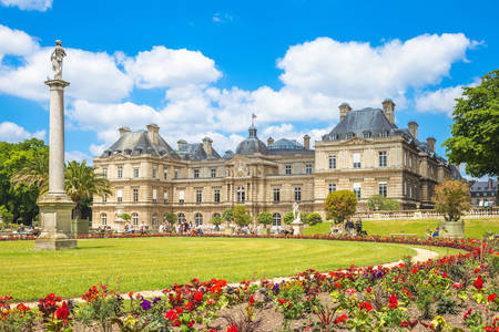 View of the Luxembourg Palace