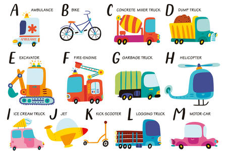 Transport alphabet