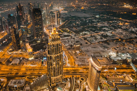 Dubai geceleri