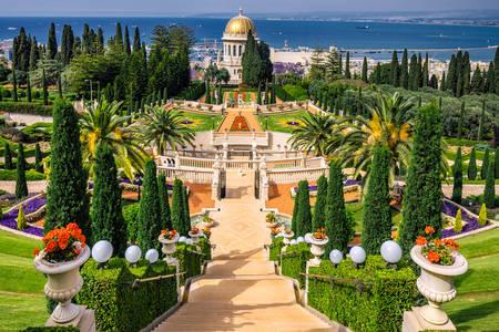 Бахайські сади у Хайфі