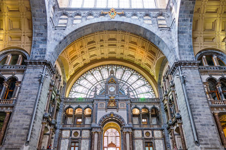 Antwerp Central Station Interior