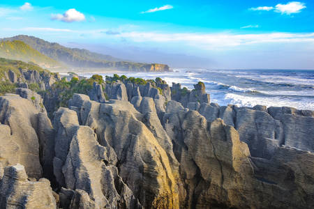 """Pancake Rocks"" New Zealand"