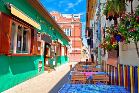 Restaurant au centre de Novi Sad