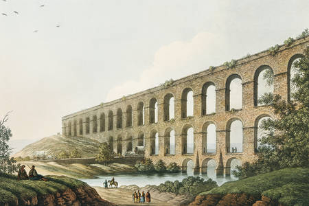 "Luigi Mayer: ""Aqueduct near Belgrade"""