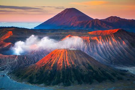 Vulcanul bromo