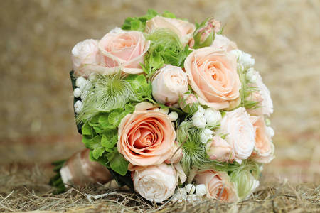 Lindo buquê de noiva