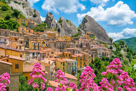 View of Castelmezzano