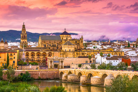 The ancient city of Cordoba