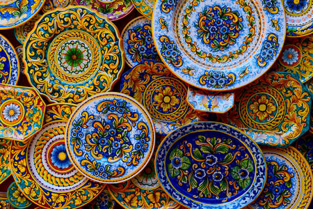 Sizilianische Keramik