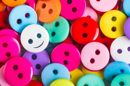 Bottoni di diversi colori