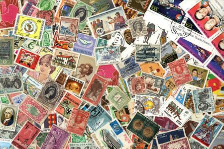 Старинные марки из разных стран