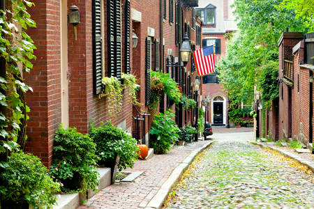 Rue de Beacon Hill