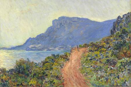 "Claude Monet: ""La Cornish near Monaco"""