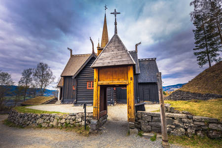 Garmo stave church in Lillehammer