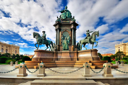 Monument to Maria Theresa in Vienna