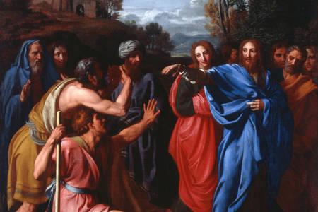 """Nicolas Colombel: """"Krisztus meggyógyítja a vakokat"""""""