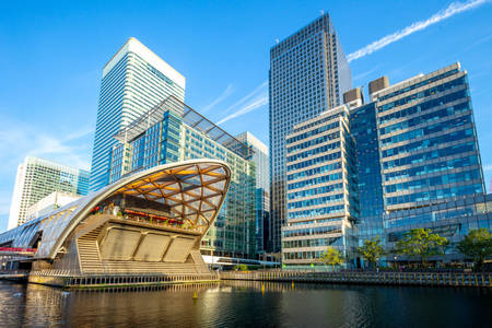 Canary Wharf architecture